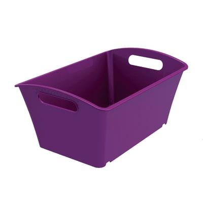 Cesta Q-In Box 1.5 L colori L 17,8 x P 11,3 x H 9,1 cm assortiti