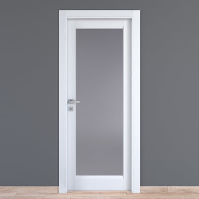Porta da interno battente Bellatrix bianco 60 x H 210 cm dx