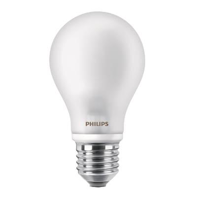 2 lampadine LED Philips E27 =40W goccia luce calda 360°