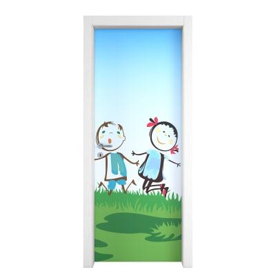 Porta da interno battente Junior 60 x H 210 cm dx