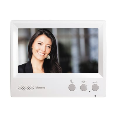 Monitor ricevitore per videocitofono con fili BTicino