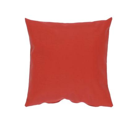 Cuscino grande Silvia rosso 60 x 60 cm