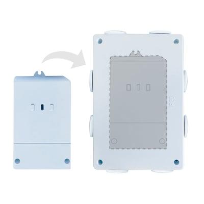 Modulo Wi-Fi salva energia da esterno RF433 MHz per la gestione di 2 carichi elettrici