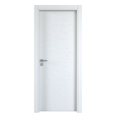 Porta da interno battente Flower silk 60 x H 210 cm dx