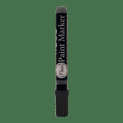 Colore acrilico nero Pennarello black opaca Fleur