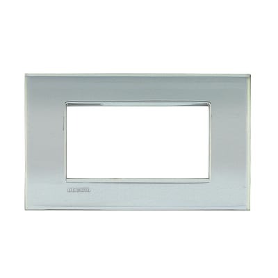 Placca 4 moduli BTicino Livinglight Air palladio