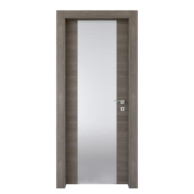 Porta da interno battente Starwood pietra 90 x H 210 cm sx