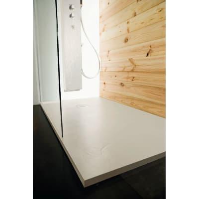 Piatto doccia resina Pizarra 190 x 90 cm ecrù