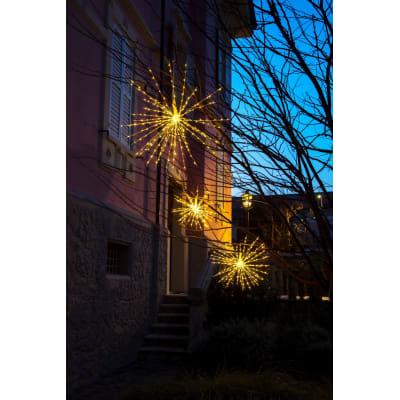 TWIGBall luminoso 320 minilucciole Led classica gialla L 60 cm