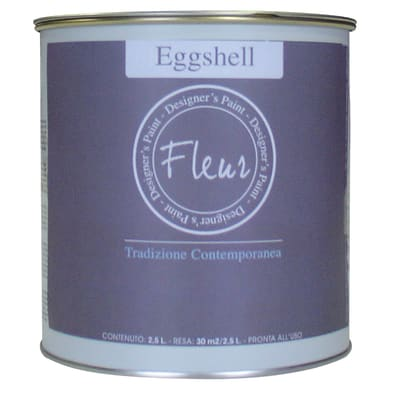 Smalto manounica Fleur Eggshell all'acqua veranda green satinato 0.75 L