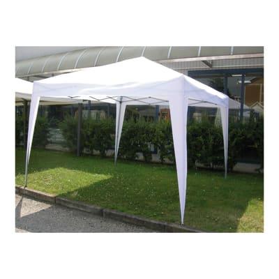 Gazebo Arona copertura bianca 3 x 3 m