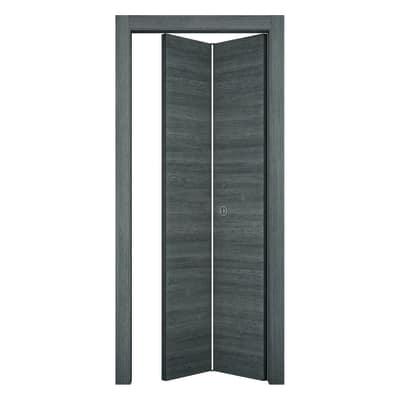 Porta da interno pieghevole Starwood pietra 70 x H 210 cm sx