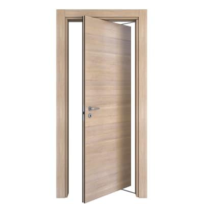 Porta da interno rototraslante Ritz Rosa del deserto 80 x H 210 cm dx