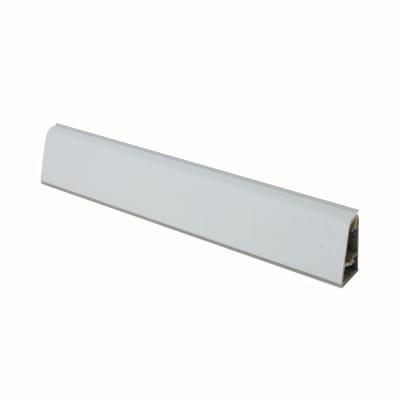 Alzatina su misura Playa alluminio grigio H 3 cm