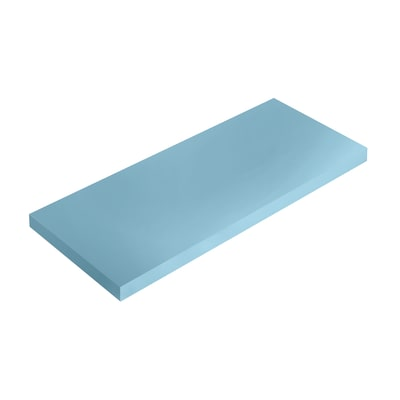 Mensola Spaceo blu L 56 x P 20, sp 1,8 cm