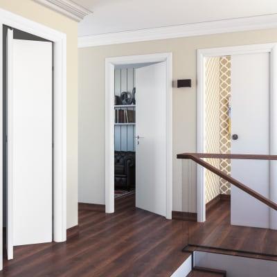 Porta da interno scorrevole pearl bianco 70 x h 210 cm for Cancello scorrevole leroy merlin