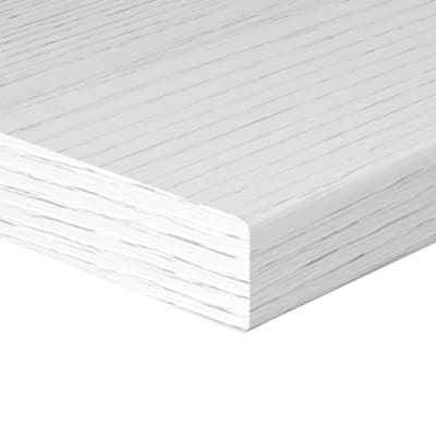 Mensola bianco L 60 x P 25, sp 2,5 cm