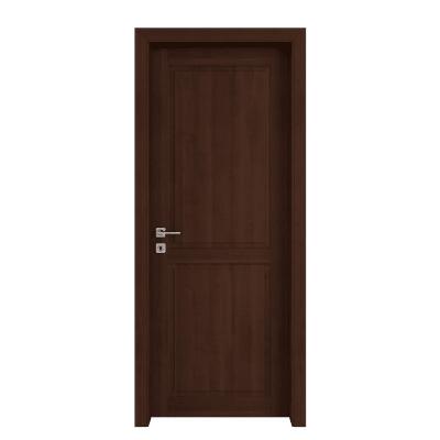 Porta da interno battente Lugano noce 60 x H 210 cm reversibile