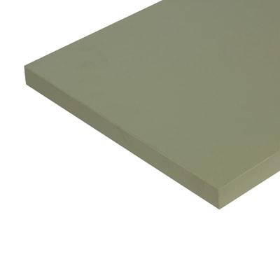 Pannello melaminico verde 25 x 300 x 1000 mm