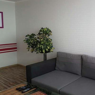 Carta da parati mattone soft bianco 10 m prezzi e offerte for Fotomurali leroy merlin