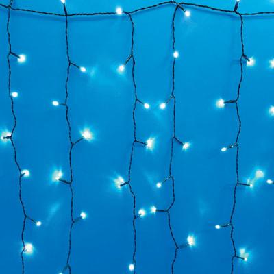 Tenda luminosa 1500 Led bianca fredda 15 m