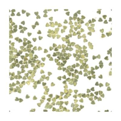 Glitter Cuori oro brillante 90 g