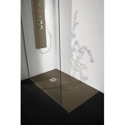 Piatto doccia resina Liso 170 x 90 cm pietra