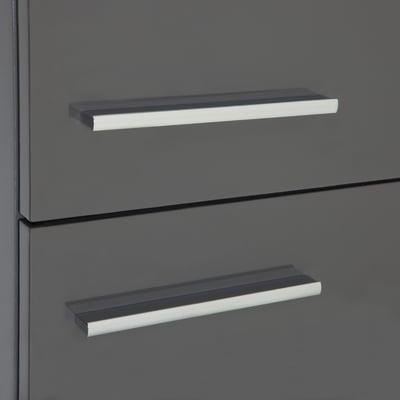 Colonna Elea grigio scuro 2 ante L 30 x H 150 x P 24 cm