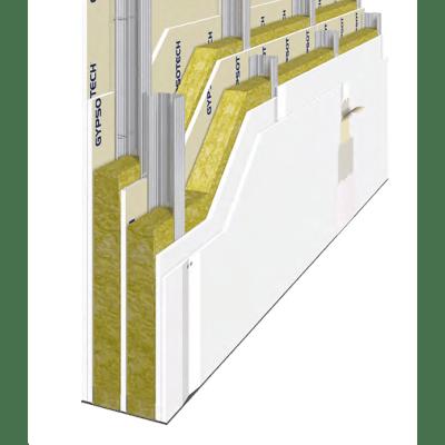 Lastra di cartongesso 120 x 200 cm, spessore 13 mm