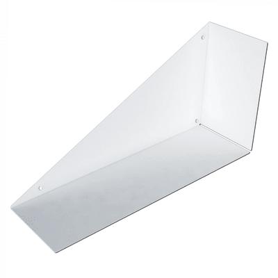 Mensola a L bianco L 60 x P 30, sp 18 cm