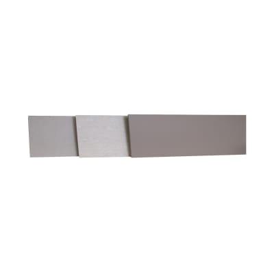 Alzatina su misura Sixty laminato grigio H 10 cm