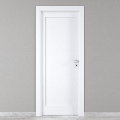 Porta da interno battente Atria bianco 60 x H 210 cm sx