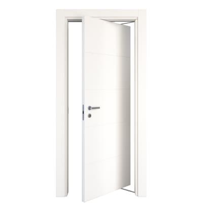 Porta da interno rototraslante Prado bianco 70 x H 210 cm dx