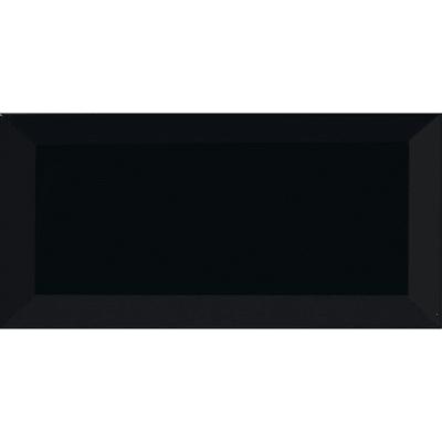 Piastrella Metro 7,5 x 15 cm nero