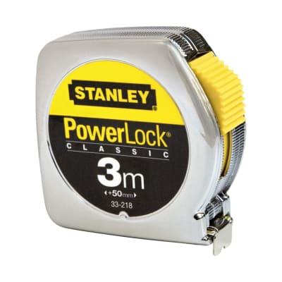 Flessometro Stanley Powerlock da 3 m