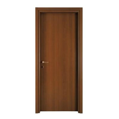 Porta da interno battente Vivaldi noce 60 x H 210 cm reversibile