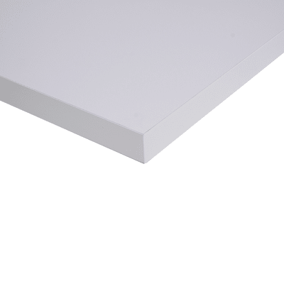 Alzatina su misura alluminio Bianco Alaska H 3 cm