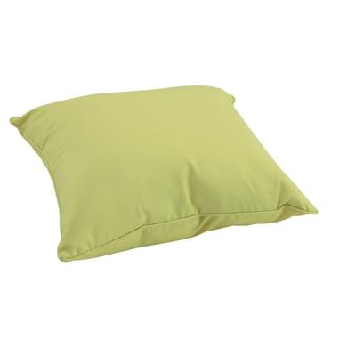 Cuscino dorso verde 60 x 60 cm