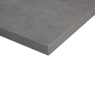 Piano cucina su misura laminato Porfido grigio 4 cm