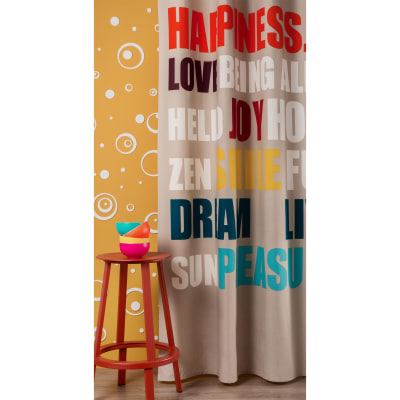 Tenda Happy multicolor 140 x 270 cm