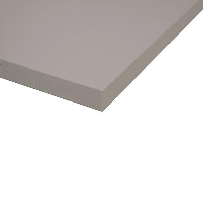 Piano cucina su misura laminato Alpaca grigio 4 cm
