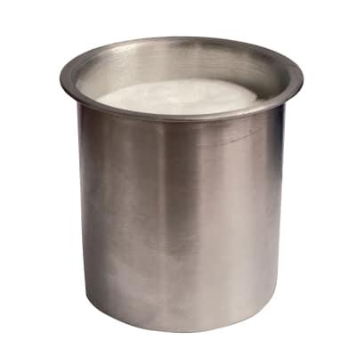 Bruciatore ricambio per biocamino Serbatoio rotondo unico strato 300 ml