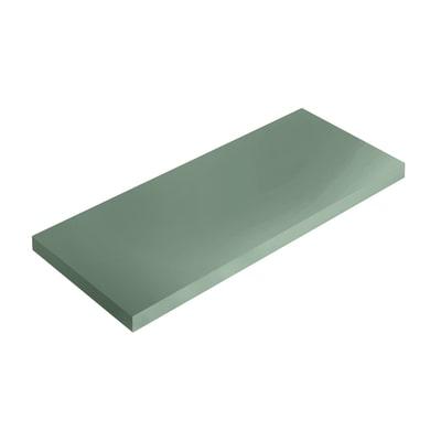 Mensola Spaceo verde L 36 x P 15,5, sp 1,8 cm