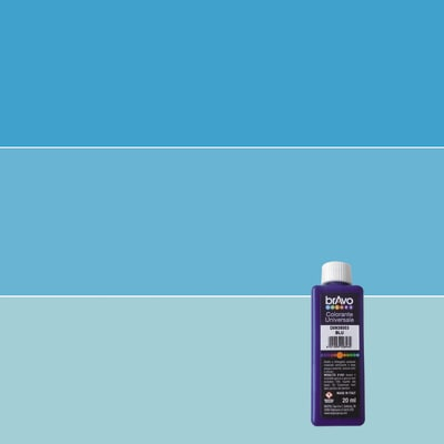 Colorante iperconcentrato ad acqua Bravo blu luce 20 ml