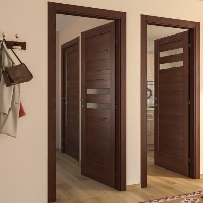 Porta da interno battente Malawi 2 70 x H 210 cm dx