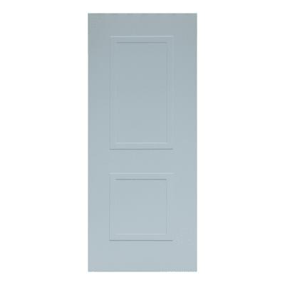 Pannello per porta blindata MDF laccato bianco L 90 x H 210 cm , spessore 6 mm