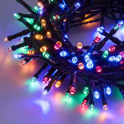 Catena luminosa 100 minilucciole Led multicolore 7 m
