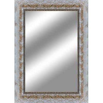 Specchio da parete rettangolare medea argento 70 x 90 cm - Specchio rettangolare da parete ...