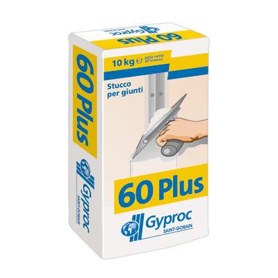 Stucco coprifughe Gyproc 60 plus Gyproc 10 kg