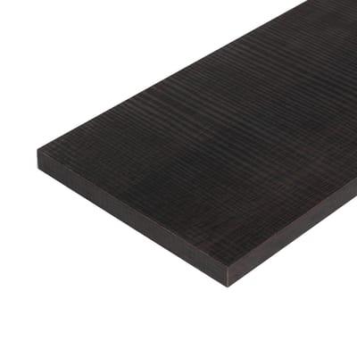 Pannello melaminico rovere scuro 18 x 600 x 1000 mm